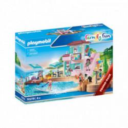 Magazin de inghetata pe plaja Playmobil Family Fun PM70279