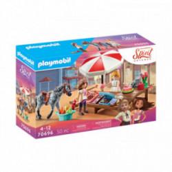 Stand cu prajituri  in Miradero Playmobil Spirit PM70696
