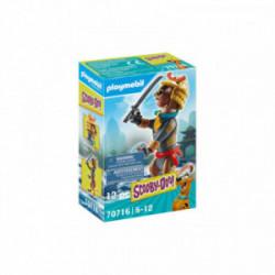 Figurina de colectie Scooby-Doo Samurai Playmobil PM70716