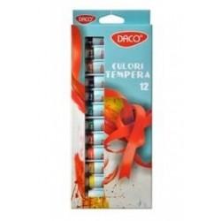Set 12 culori Tempera DACO CU112