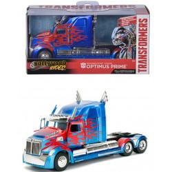 Masinuta metal Transformers T5 Optimus Prime 1:32