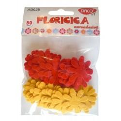 Floaricica - flori pasla autoadeziva Daco Art AD025